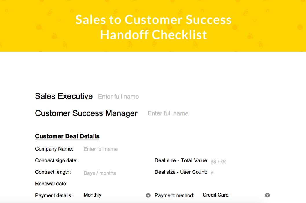 How To Get Frictionless Handoffs Between Sales And Customer Success